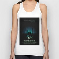 evil dead Tank Tops featuring Evil Dead (1981) Movie Poster by desistfilm