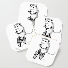 Opossums bike, too Coaster