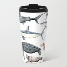 Marine wildlife Travel Mug