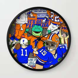 This Is The Swamp Wall Clock