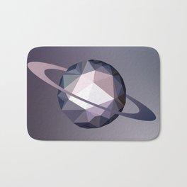 Geometric Saturn Bath Mat