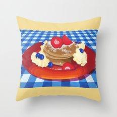 Pancakes Week 10 Throw Pillow
