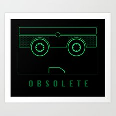 OBSOLETE Art Print