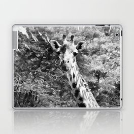 African Giraffe - Through The Woods And Through The Trees Laptop & iPad Skin
