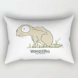 Hare illustration Rectangular Pillow
