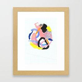 jumble Framed Art Print