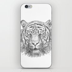 The Tiger's head iPhone & iPod Skin