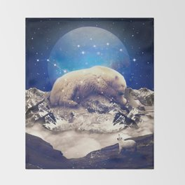 Under the Stars | Ursa Major II Throw Blanket