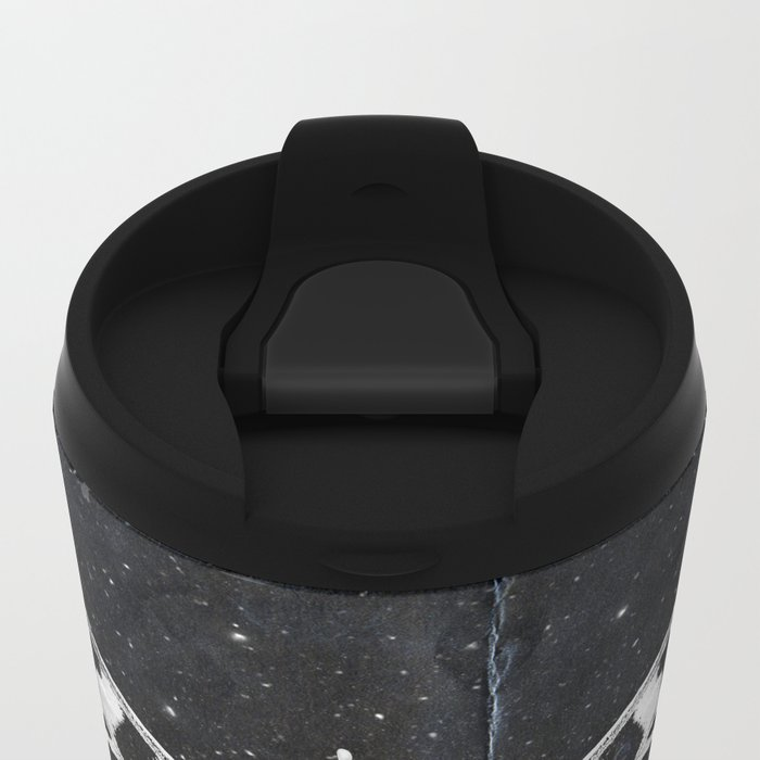 Butterfly in the stars Metal Travel Mug