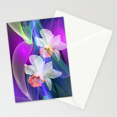 Dreamy Spring with Daffodils Stationery Cards