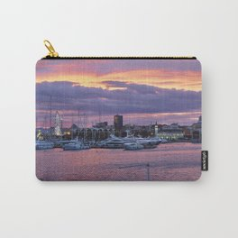 Sunset at the seaport Carry-All Pouch