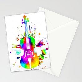 Violin Stationery Cards