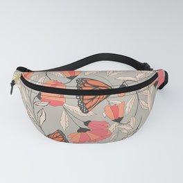 Monarch garden 001 Fanny Pack