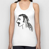zappa Tank Tops featuring Frank Zappa by rabuzina