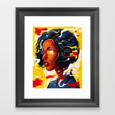 Expressions III Framed Art Print