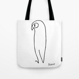 Pablo Picasso The Owl Artwork T Shirt, Reproduction Sketch, tshirt, tee, jersey, poster, artwork Tote Bag