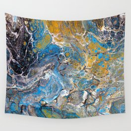 Mineralogy - Abstract Flow Acrylic Wall Tapestry