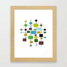 Mid-Century Modern Art 1.3.2 Framed Art Print