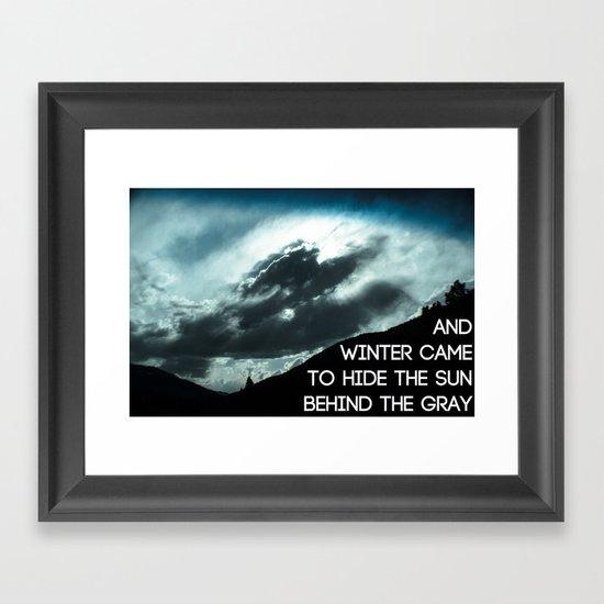 MS-007 Framed Art Print