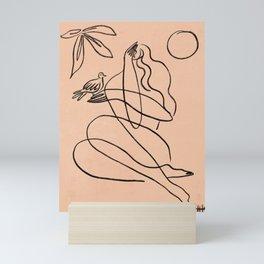 Summer Lines X  Mini Art Print