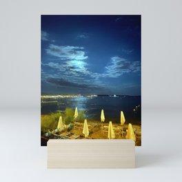 Silent Night in Monaco Mini Art Print