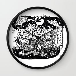 Hell my name is. Wall Clock