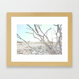 The Road to Marfa Framed Art Print