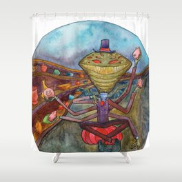 Mr. Jenkins Shower Curtain