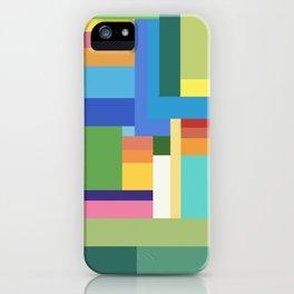 Green Geometry iPhone Case