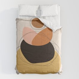 Abstract Shapes 02 Comforters