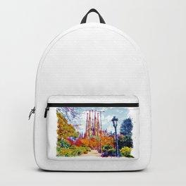 La Sagrada Familia - Park View Backpack