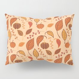 Leaves and pumpkins Pillow Sham