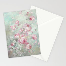 Whispering Petals Stationery Cards