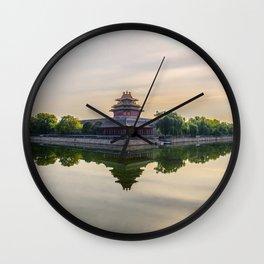 Forbidden City moat Wall Clock