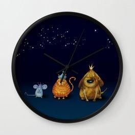 We Three Kings Wall Clock