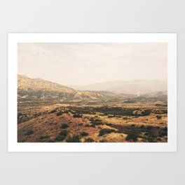 San Bernadino Valley Art Print
