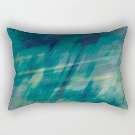 Submerge Aqua Rectangular Pillow