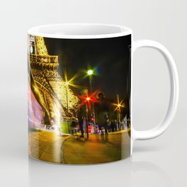City Lights; Eiffel Tower Coffee Mug