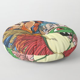 Kids and the Dragon Floor Pillow