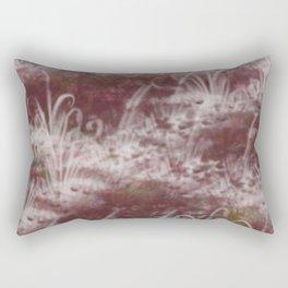 Texture Art - Grass Rectangular Pillow