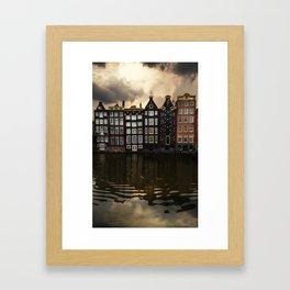 Postcards from Amsterdam Framed Art Print