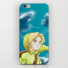 The legend of Zelda - Link kid iPhone & iPod Skin