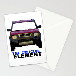 The Crucial Element Stationery Cards