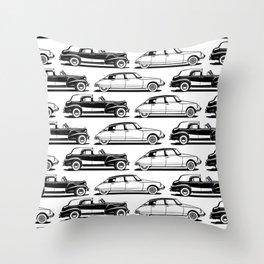 Automobiles Throw Pillow