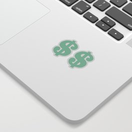 Mint Dollars Sticker