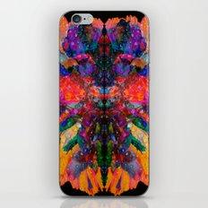 Dew Drop Rainbow Flower iPhone Skin
