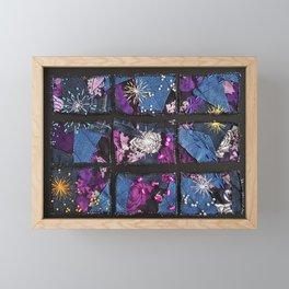Rhythm of days Framed Mini Art Print