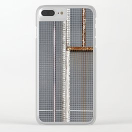 Mesh 01 Clear iPhone Case