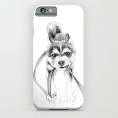 The Perseverance of a Puppy :: Siberian Husky Slim Case iPhone 6s