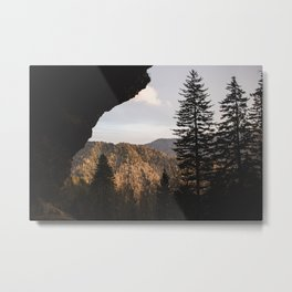 Alum Cave Metal Print